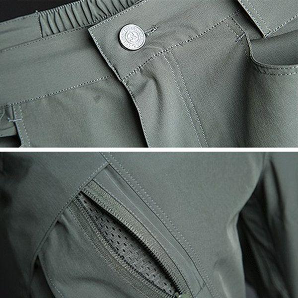 Mens Outdoor Quick-drying IX9 Tactical Cargo Pants Military Training Pants