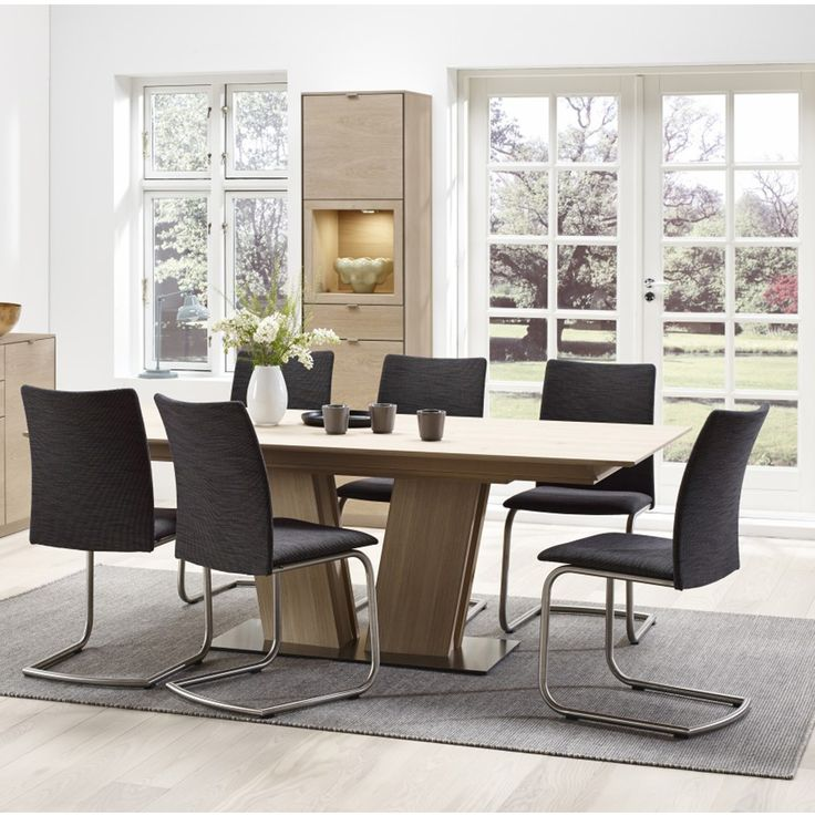 Skovby Walnut Dining Table And 6 Chairs From
