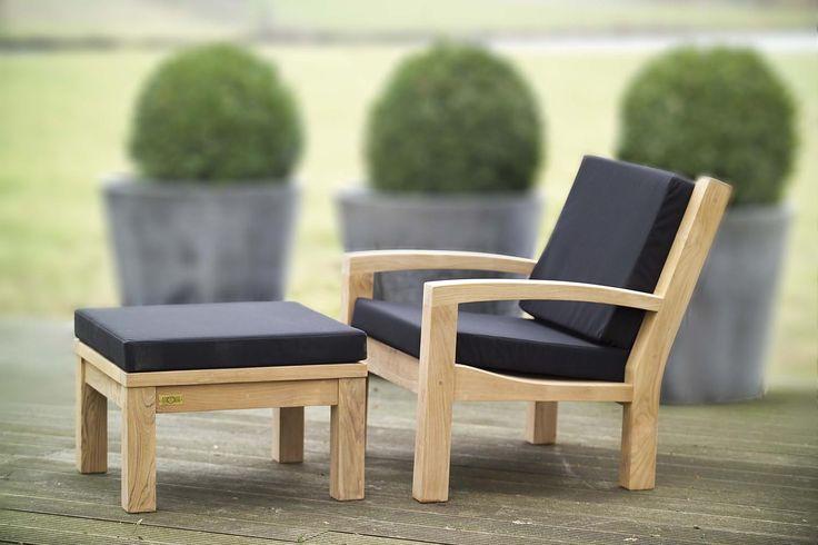 De Grande Lounge met Hocker - ergonomisch - van Annapart - Schellinkhout - www.annapart.com