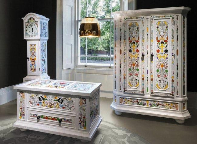 современный дизайн шкафа
