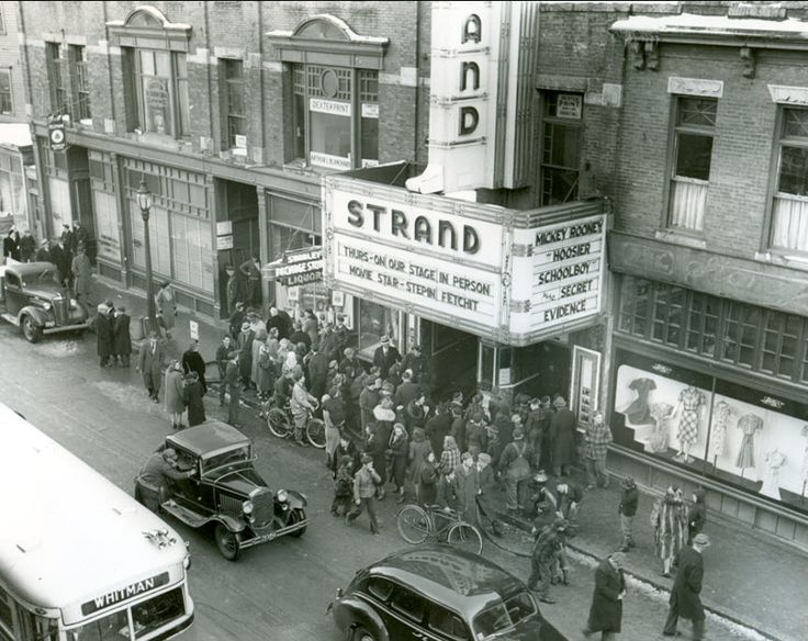 The Strand Theatre, Brockton MA ~ Tragic fire/roof collapse in 1941 killed 13 firefighters