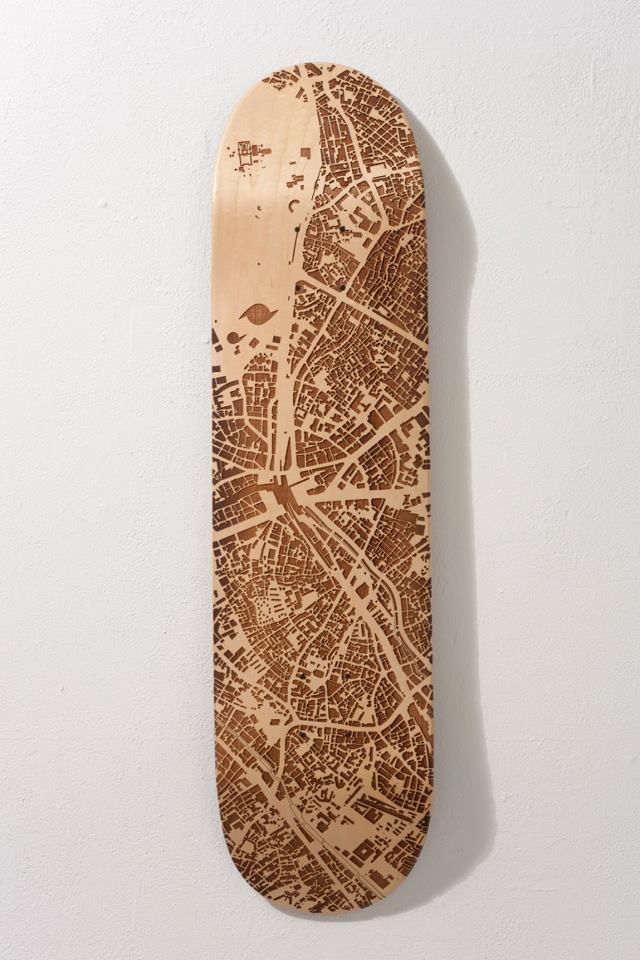 lazer etched board