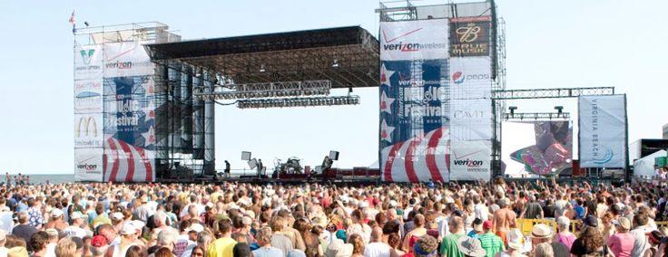 2013- Aug 30-Sept 1 - American Music Festival, Virginia Beach