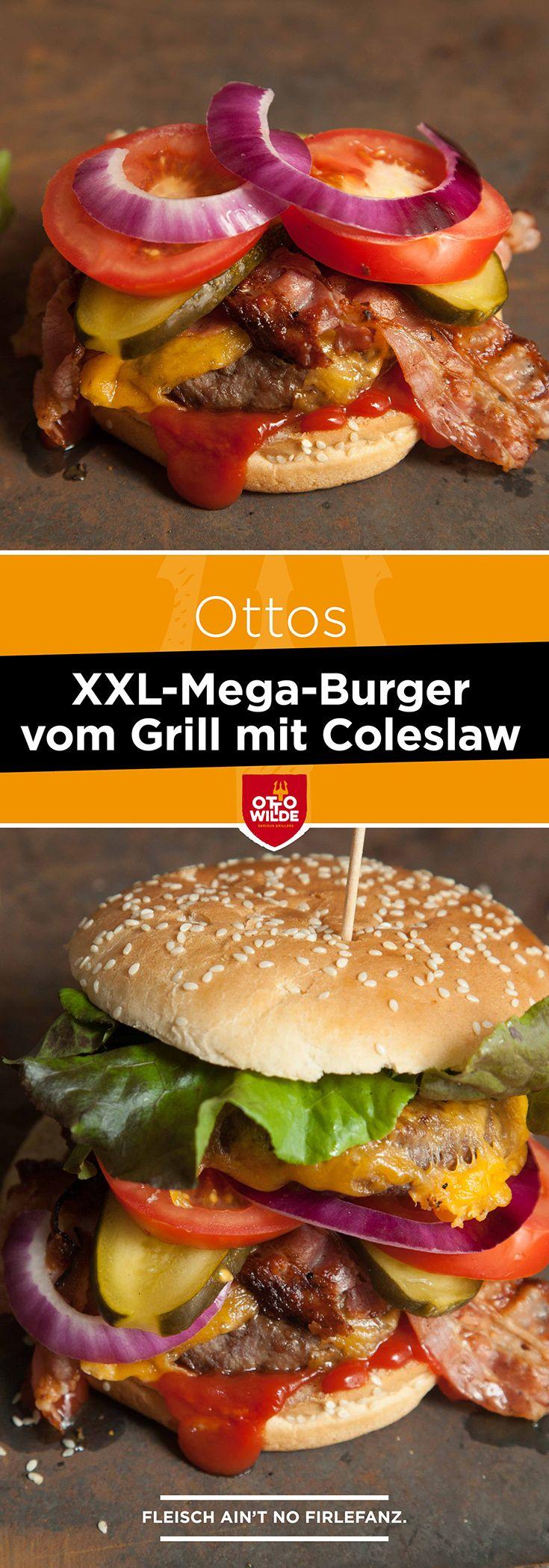 In den USA ist National Fast Food Day. Passend dazu gibt es von uns ein Rezept für den Mega-Burger.
