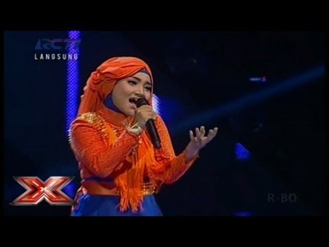 FATIN SHIDQIA - ONE WAY OR ANOTHER (Blondie) - GALA SHOW 11 - X Factor Indonesia 3 Mei 2013