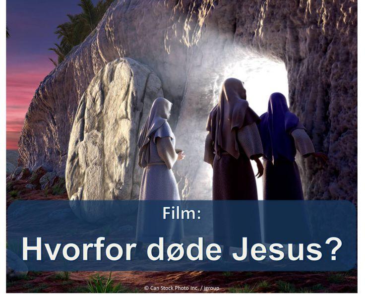 Jesu død havde et formål, som kan være til gavn for dig og din familie! Find ud af hvordan i denne video.  https://www.jw.org/da/publikationer/b%C3%B8ger/gode-nyheder-fra-gud/hvem-er-jesus-kristus/film-hvorfor-d%C3%B8de-jesus/ (Jesus' death had a purpose which can be beneficial for you and your family! Find out how in this video.)