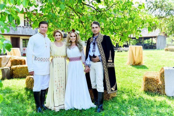 weeding traditions romanian Elena și Tudor