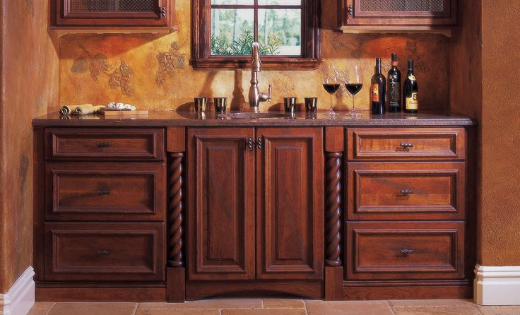 Cabinet inspiration gallery custom cabinetry cottages and all things for Omega bathroom vanity cabinet