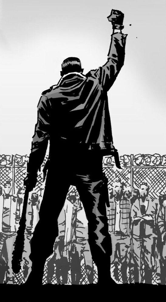 Pauljesusmonroetwd Negan The Walking Dead