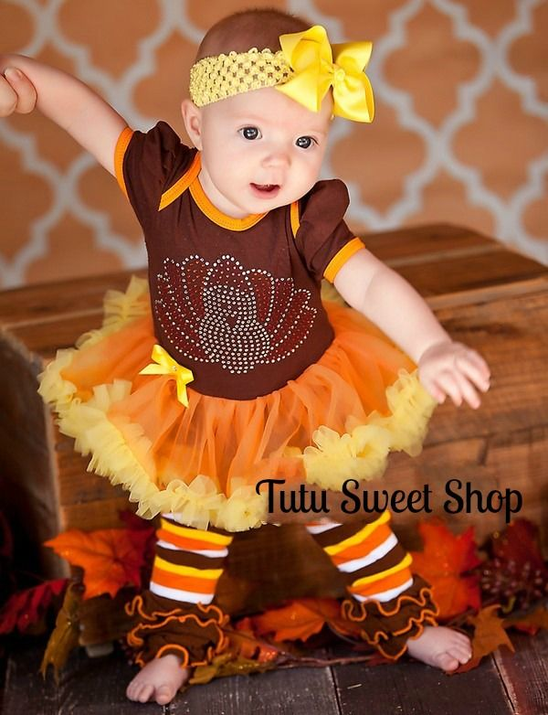This outfit makes the perfect Thanksgiving outfit, baby shower gift, coming home outfit or an everyday wear so your baby girl can look absolutely fashionable wherever she goes! Description from tutusweetshop.com. I searched for this on bing.com/images