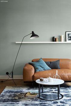 minty brezze på en lange veggen stuen