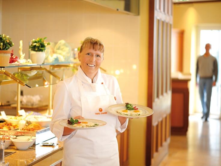 Ein guter Start in den Tag - das vielfältige Frühstücksbuffet im Ostseehotel Kühlungsborn
