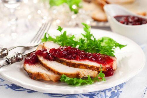 Клюквенный соус - Рецепты клюквенного соуса - Как правильно готовить