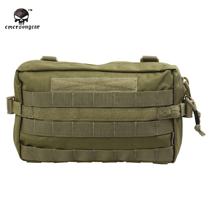 2017 Emerson 1000D Waterproof Drop Utility Pouch Military Waist Molle Pack Weapons Tactics Outdoor Sport Ride EDC Hunting Bag.