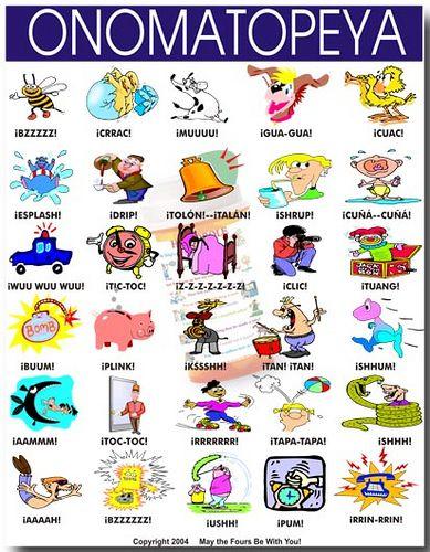 Las Onomatopellas en español
