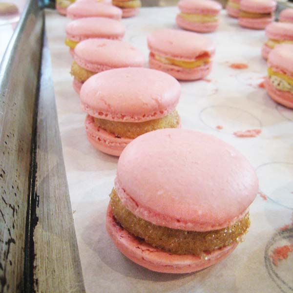 How to make macarons. Lessons and tips we learned at a workshop with pastry chef Adriano Zumbo. More baking recipes at The Cake Mistress.
