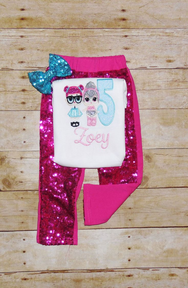 LOL Doll birthday outfit, LOL doll outfit, LOL doll birthday shirt, lol birthday… – Art on Canvas