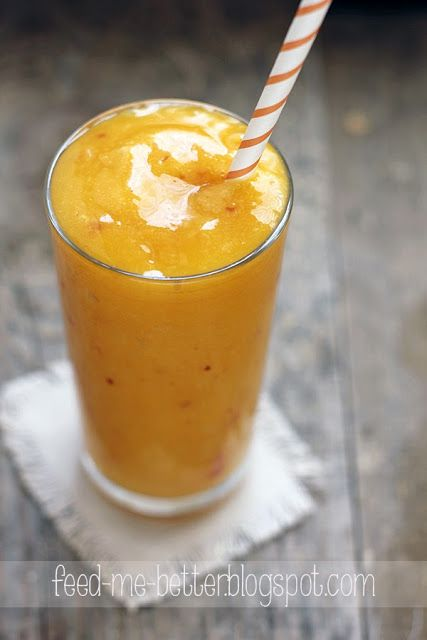 przepis na 2 porcje 1 mango 1 nektarynka 1 grejpfrut 50 ml wody lód