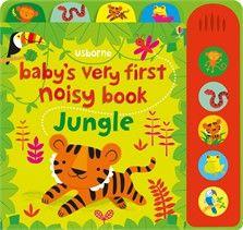 Usborne Baby's Very First Noisy Book - Jungle