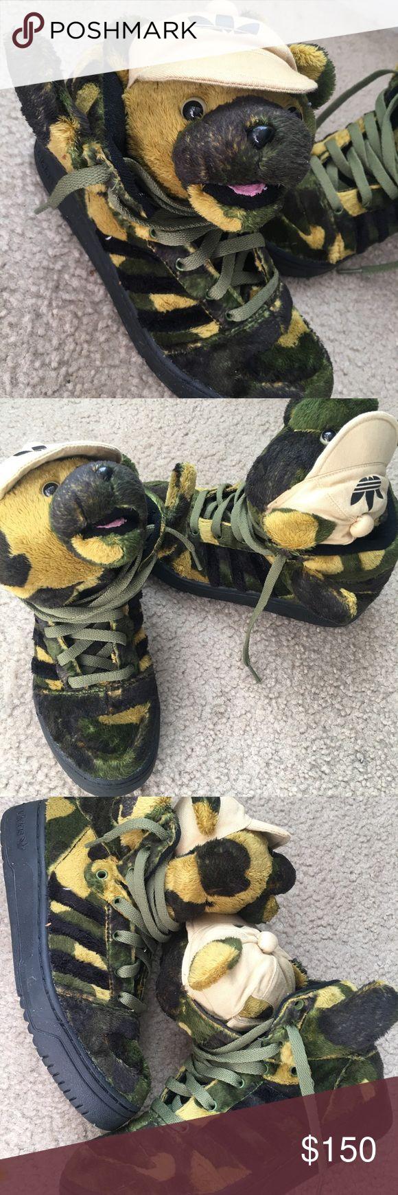 Jeremy Scott adidas camo sz 5.5 Size 5.5, brand new, rare Adidas Shoes Sneakers