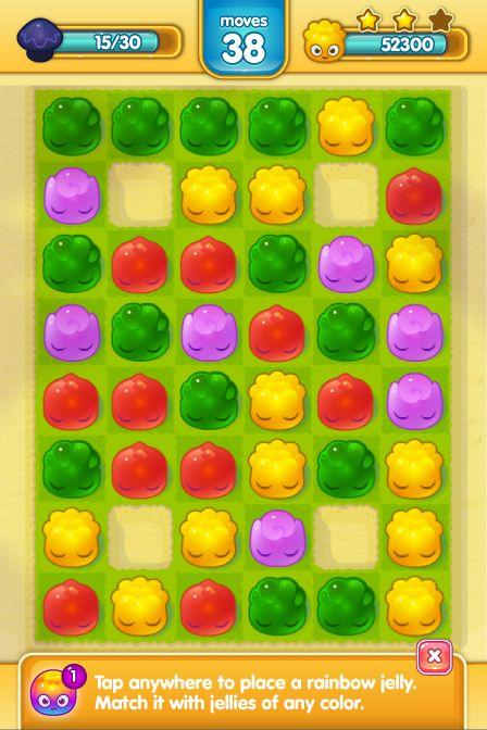 Jelly Splash UI proposal on Behance