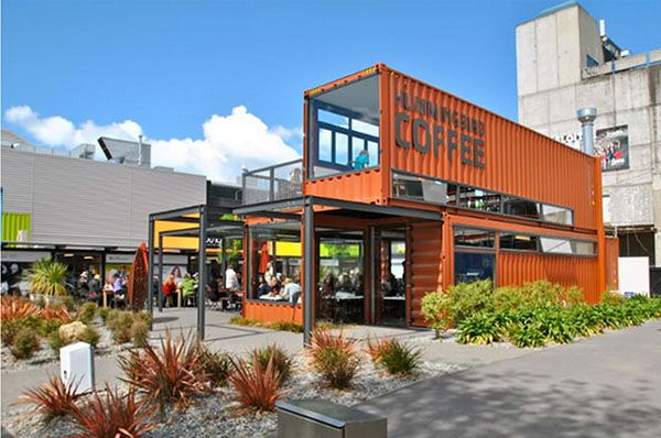 Re:Start Mall in Christchurch - pop up mall