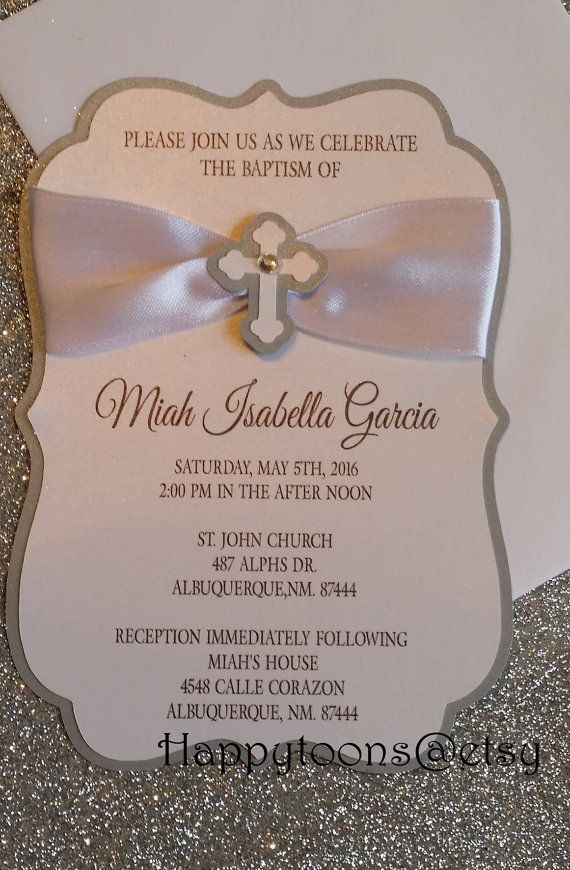Baptism Invitations First Communion Christening