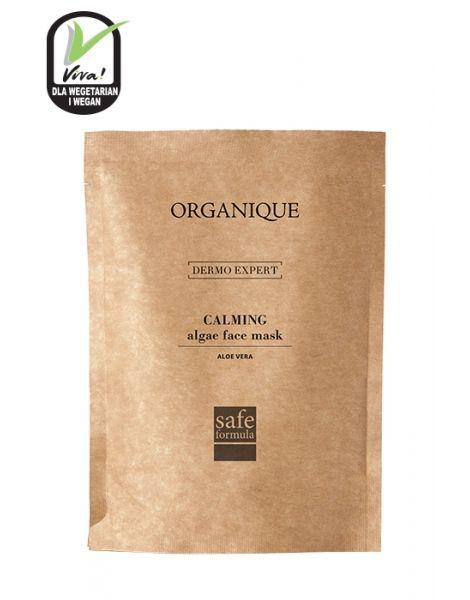 Organique - Łagodząca maska algowa z aloesem do cery wrażliwej, naczynkowej