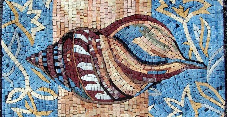 10 Мраморная мозаика - морская тема