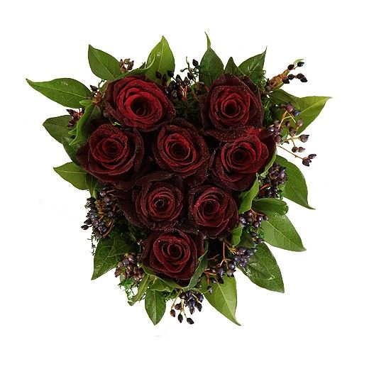 Heart of Red Roses - Auckland Delivery Only