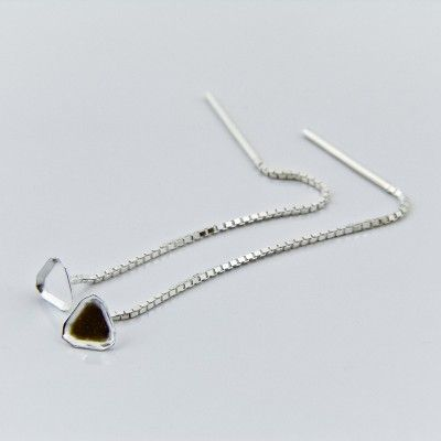 L4841_6mm for Swarovski 4841 6mm  Dimensions: 63,0mm Weight ~ 0.92g ( 1 pair ) Metal : sterling silver ( AG-925)  1 package = 1 pair
