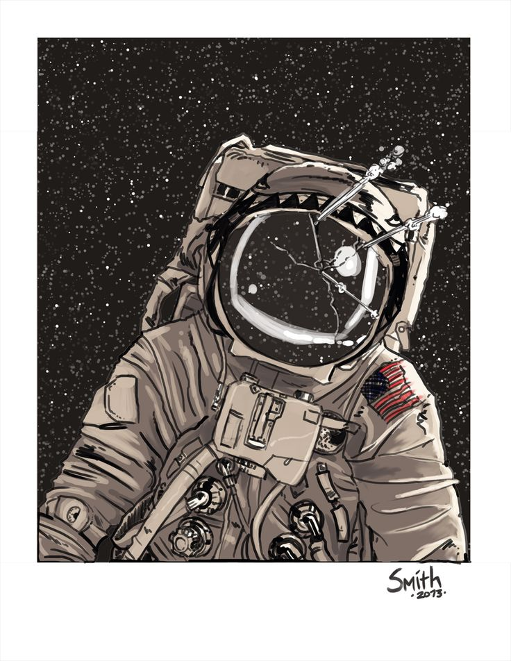 astronaut space suit drawing - photo #37