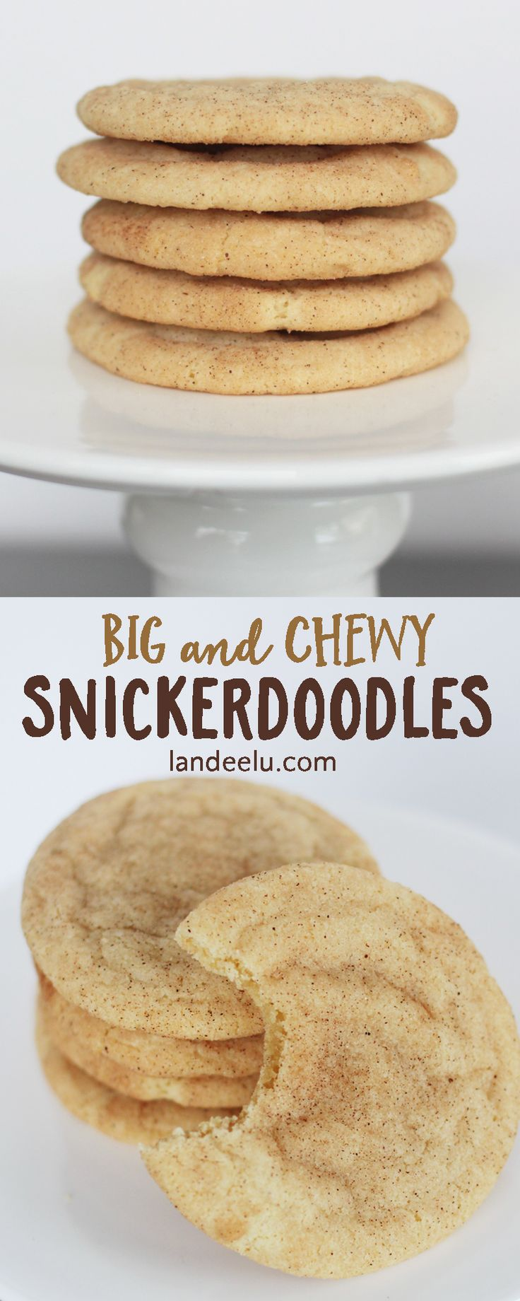 This is the snickerdoodle recipe you've been looking for! Try these and you'll be in snickerdoodle HEAVEN.