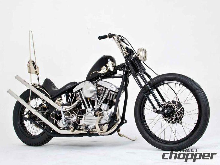 Custom Harley Davidson Pan Shovel | Street Chopper
