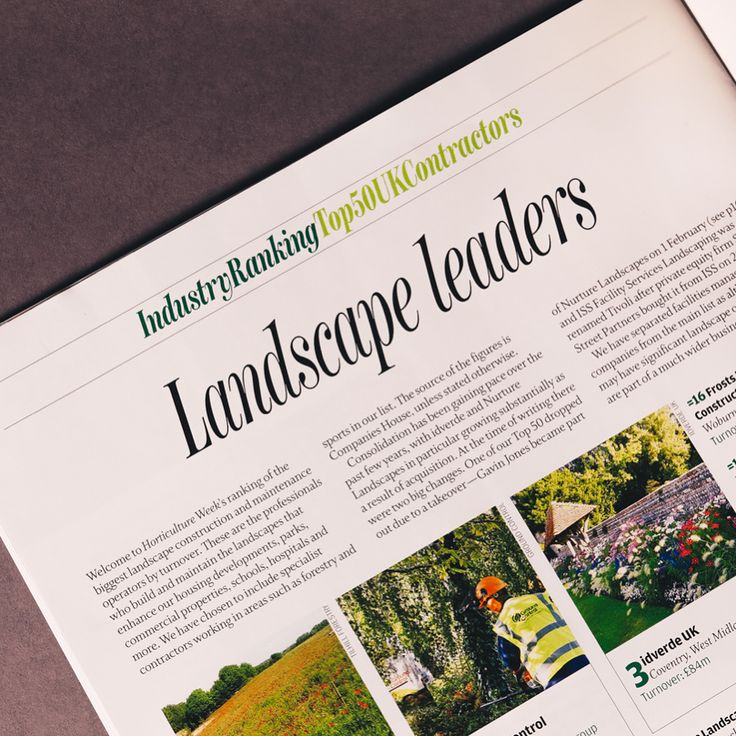 Proud to be featured within this months Horticulture Week article on Landscape Leaders. Look out for Landstruction within the dedicated BUBBLING section for growing businesses. Exciting times ahead! #landstruct #horticulture #landscapeleaders #landscaping