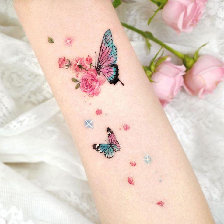 Pin em Tatuagem de borboleta