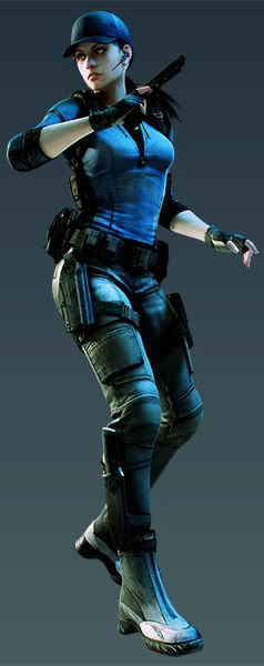 JILL VALENTINE...this would be fun too, and waaay more comfy
