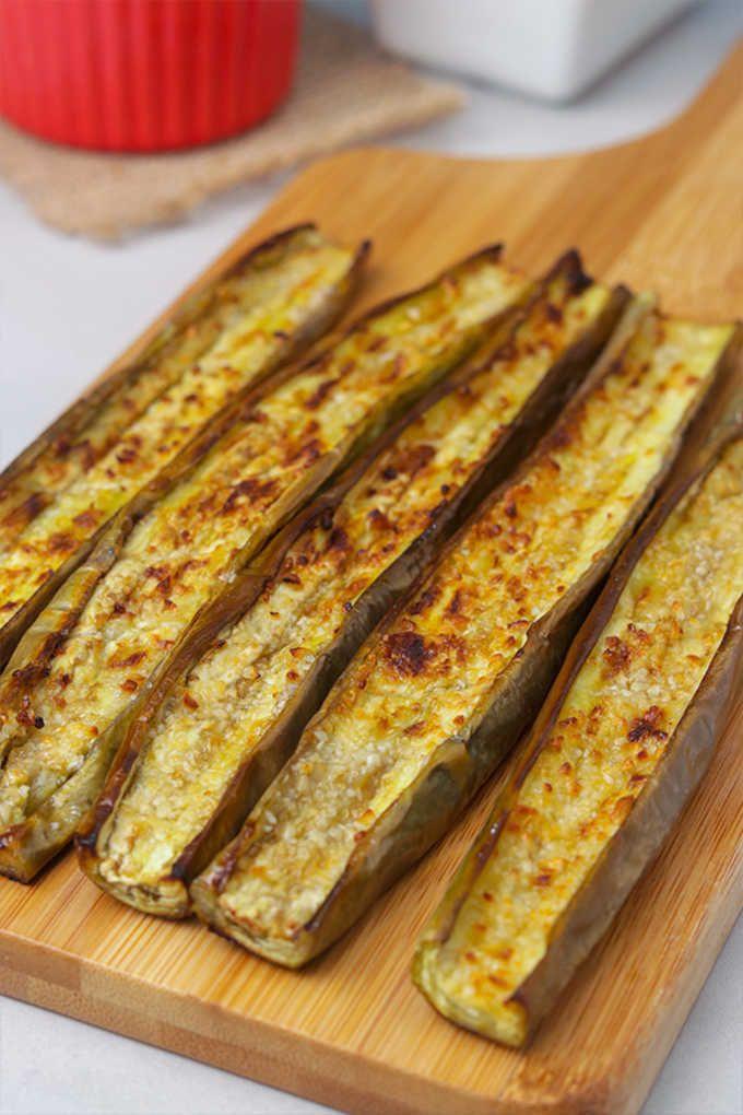 Garlic Roasted Japanese Eggplant