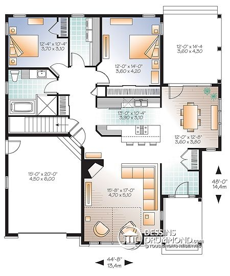 69 best plan maison images on Pinterest | Projects, Floor plans ...