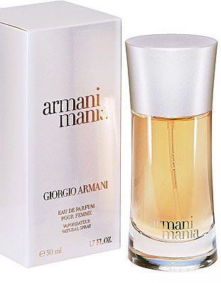 Armani Mania Giorgio Armani perfume - a fragrance for women - woody, floral, citrus, powdery, vanilla, sweet
