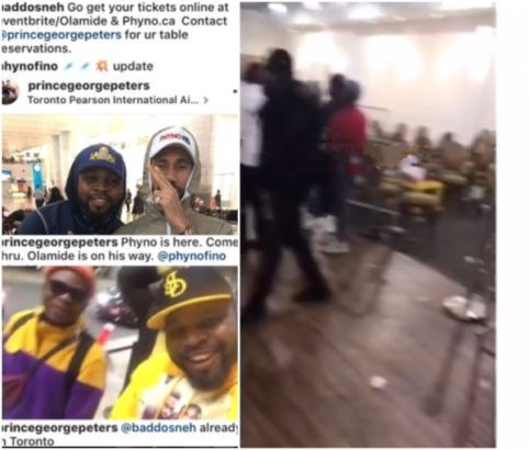 Fans destroy properties in Canada after show promoter duped them with Olamide an...