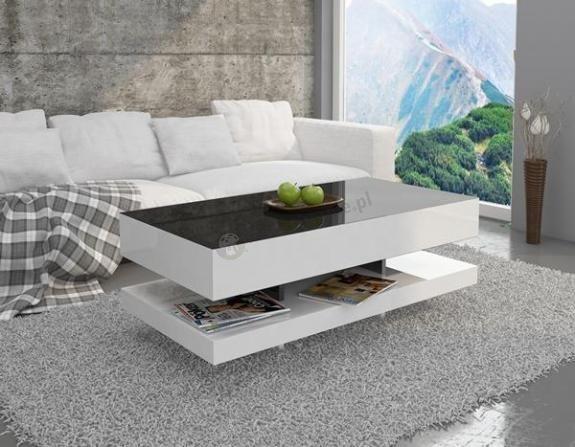 Stolik Kawowy Tora Czarno Bialy Furniture Coffee Table Outdoor Sectional Sofa