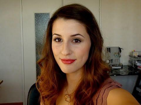 Maquillage neutre inspiration Blair Waldorf