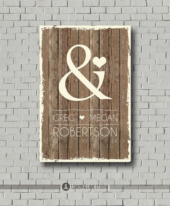 Wedding Guest Book - Monogram - Ampersand Guest Book - Wedding Poster - Guestbook - Wedding Gift - Wedding Wood Sign - Wedding Art Signature on Etsy, $35.00