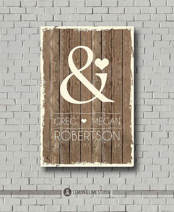 Wedding Guest Book - Monogram - Ampersand Guest Book - Wedding Poster - Guestbook - Wedding Gift - Wedding Wood Sign - Wedding Art Signature on Etsy, $35.00