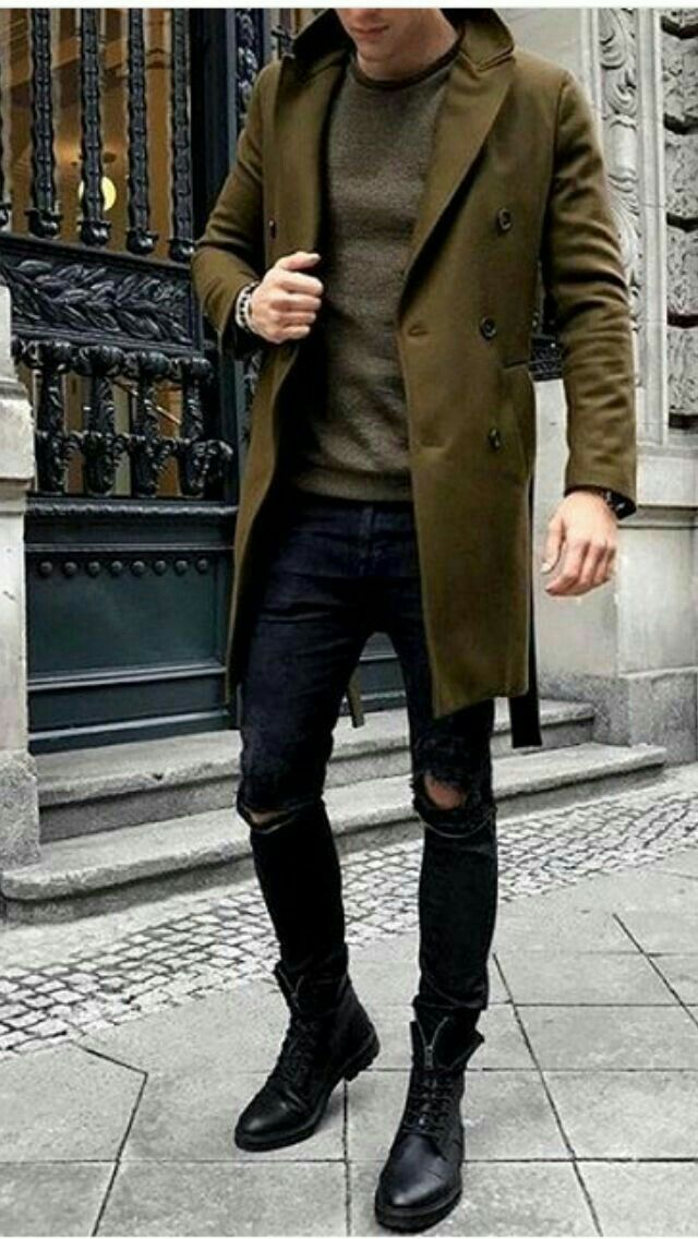 74+ Best Ideas about Stylish and Trendy Ripped Jeans Outfit for Men http://about-ruth.com/74-best-ideas-about-stylish-and-trendy-ripped-jeans-outfit-for-men/ Ripped Jeans are all about mixing casual style with some formal wear and creating a very classy look. Ripped jeans are not just trendy but help soften...