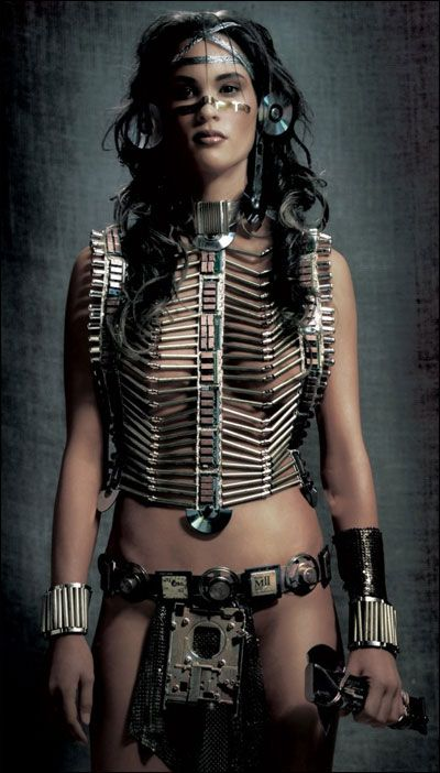 Image result for native tribal sci-fi girl
