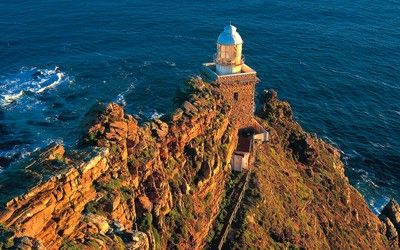 Cape Point, South Africa-Cape of Good Hope lighthouse