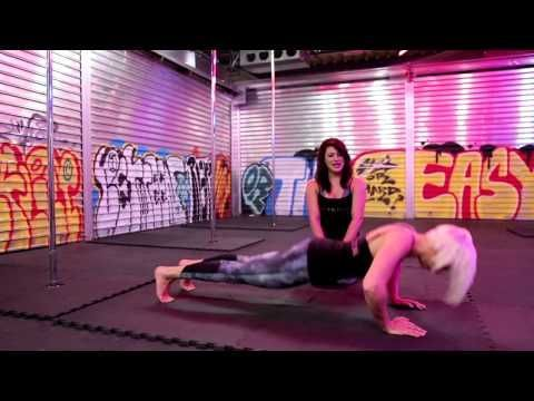Conditioning exercises for pole dance - beginner and intermediate level #poledance #polefun #conditioning