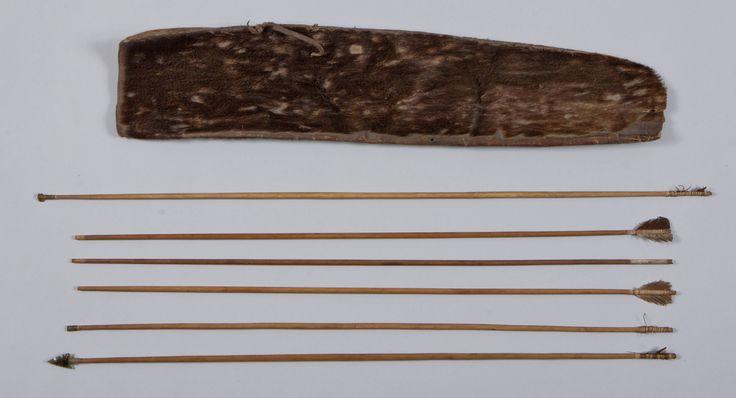 Колчан и стрелы, Selknam. 1838-1858 год